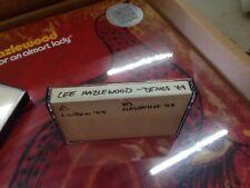Lee Hazlewood London/Nashville Demos 69 CASSETTE TAPE very limited promo! NEW!!!