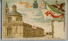 Ospedale Militare di Torino Art Nouveau  WWI PC Circa 1900