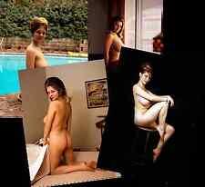 MELINDA WINDSOR JOB LOT SET 10 PHOTOS 7 X 5  HOT BUSTY NUDE GLAMOUR MODEL 1960s