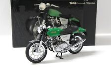 1:12 Minichamps NORTON COMMANDO 750 Mach Green NEW chez Premium-modelcars