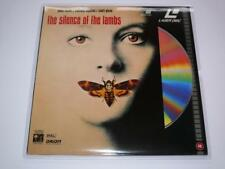 LaserDisc ~ The Silence of the Lambs ~ Foster / Hopkins ~ PAL ~ Columbia
