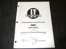 White Model 2 135 2 155 Tractor I Amp T Service Shop Service Manual 1978