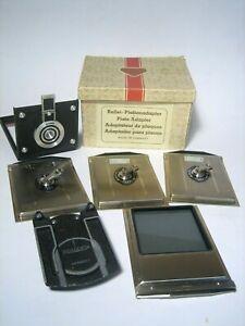 Rollei, Rolleiflex Plattenadapter in OVP
