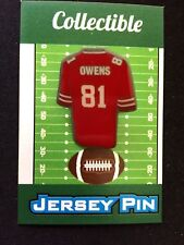 San Francisco 49ers Terrell Owens lapel pin-Collectible-Welcome 2 Hall of  Fame! bc746e753
