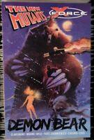 New Mutants X-Force Demon Bear (2014) TPB Marvel Claremont Sienkiewicz