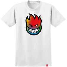 Spitfire Wheels Tee Bighead White Tie Dye Fill Mens Skateboard T-Shirt