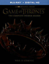 NEW HBO BLU RAY + DIGITAL GAME OF THRONES SECOND SEASON 2  FREE FAST 1ST CLS S&H