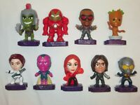 Mcdonald's Happy Meal Toys Marvel Studios Heroes Complete Set of 9 Pieces