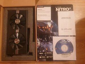 SAPPHIRE NITRO+ Radeon RX 580 4GB GDDR5 Graphics Card (11265-07-20G)