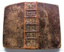 1761SAINTE COMMUNION MEDITATION DIEU RELIGION BIBLE THEOLOGIE LIVRE OLD BOOK GOD