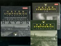 Haydn Symphonies Complete 33 CD box Adam Fischer Brilliant Classics Austria EX