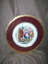 WEATHERBY ROYAL FALCON GIFT WARE PLATE FINE BLACK CHERRIES STOKE-ON-TRENT ENGLAN