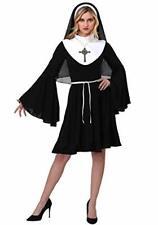 Sexy Black and White Nun Costume Dress. uk 10 - 12