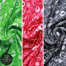"""100% Printed Cotton Jersey, Buttons & Bobbins, 3 Col, Green, Pink, Grey, 60"""""""