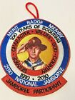 BOY SCOUT 2010 NATIONAL JAMBOREE PARTICIPANT 100 YEARS OF SCOUTING EMBLEM PATCH