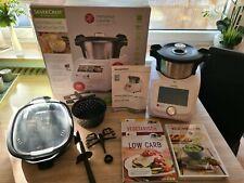 Silvercrest Monsieur Cuisine Connect SKMC 1200 C3 + Kochbücher