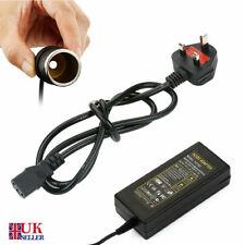 5A 240V Mains To 12V DC Adaptor Cigarette Lighter Plug Converter Car Charger 60W