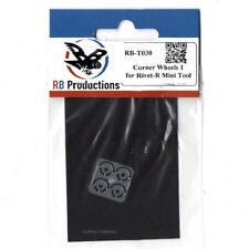 RB Productions Corner wheels 1 - for Rivet-R MINI tool