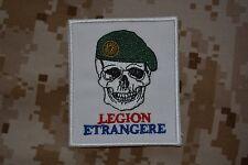 Z006 écusson tissu insigne patch militaire armée Légion étrangère béret vert