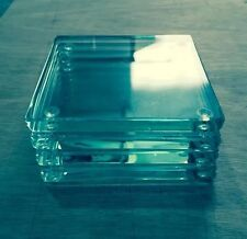10mm Thick Clear Glass Coasters