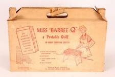 Vintage Miss Barbee Q Bbq Portable Grill Picnics Camping Beach Outdoor