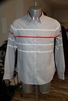 jolie chemise coton homme TOMMY HILFIGER taille 14 soit L en parfait état