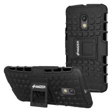 AMZER HYBRID WARRIOR CASE COVER WITH KICKSTAND FOR MOTOROLA MOTO X PLAY