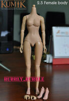 KUMIK 1/6 Scale 2.5 Female Figure For Custom Hot Toys Head Sculpt SHIP FROM USA