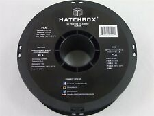 HATCHBOX PLA 3D Printer Filament 1 kg Spool, 3.00 mm, Black