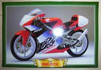 HONDA RS125 R RS 125 CLASSIC MOTORCYCLE RACE BIKE PICTURE 1999 PRINT 1990'S