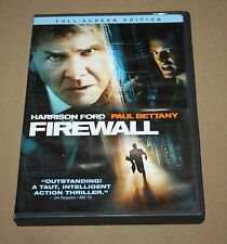 Firewall (DVD, 2006, Full Frame) HARRISON FORD, PAUL BETTAY ~SHIPS W/ TRACKING