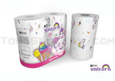 UNICORN Birthday Party Kitchen Towel Paper Tissue 2 Rolls Pack - Limited Edition