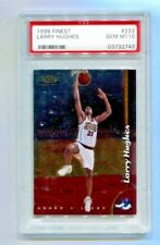 1998 Finest - LARRY HUGHES - Rookie #233 - 76ers PSA 10 Gem Mint