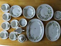 Vintage 46 Piece Hawthorn Fine China Dinnerware by FRANCONIA-KRAUTHEIM