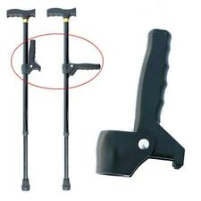 Old Man Walking Cane Extra Handle For Elderly Walking Stick Auxiliary Handle Q