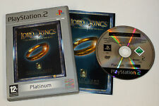 The Lord of the Rings: The Fellowship of the Ring PLAT(Sony PlayStation 2, 2002)