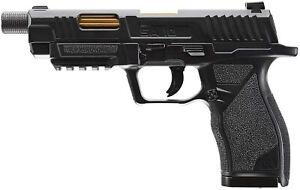 Umarex UX SA10 .177 Pellet or BB Gun Airgun Pistol Black Fram Gold-Style Barrel