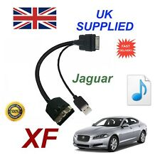 For Jaguar XF XK Audio Cable iPhone 3gs 4 4s & most ipods with USB cable