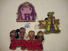 2013 Monster's University Lot Of 3 Disney Pins (Pin Lot #  80)