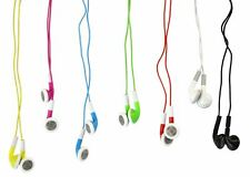 Colourful Earphones Headphones Compatible with Phones and Pads