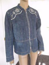 Apriori- tolle Jeans-Jacke  Gr. 44 - dunkelblau
