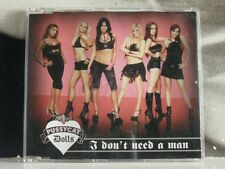 PUSSYCAT DOLLS - I DON'T NEED A MAN CD SINGLE + VIDEO EXCELLENT