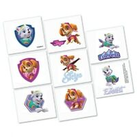 PAW PATROL GIRLS TATTOOS BIRTHDAY PARTY SUPPLIES