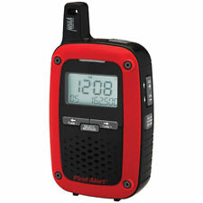 First Alert Portable AM/FM Digital Weather Radio w/ S.A.M.E. Weather Alert