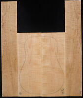 Curly Maple Guitar Set #45  Acoustic  Back and Sides Luthier Tonewood