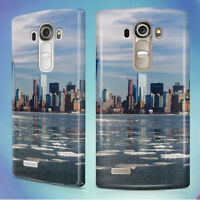 CITY SKYLINE NEW YORK SKYSCRAPERS HARD BACK CASE COVER FOR LG PHONES