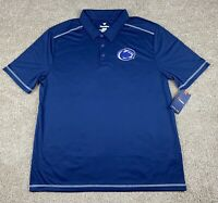NWT Penn State Nittany Lions Logo Mens Polo Shirt Fanatics Brand Size XL Blue