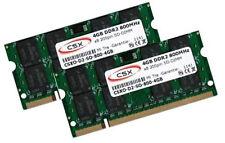 2x 4GB 8GB DDR2 800 Mhz HP-Compaq EliteBook 8530w 8730w RAM Speicher SO-DIMM