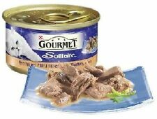 Gourmet Solitaire Can premium fillets with Turkey in Sauce 12 x 85g