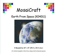 MosaiCraft Pixel Craft Mosaic Art Kit 'Earth From Space' Pixelhobby
